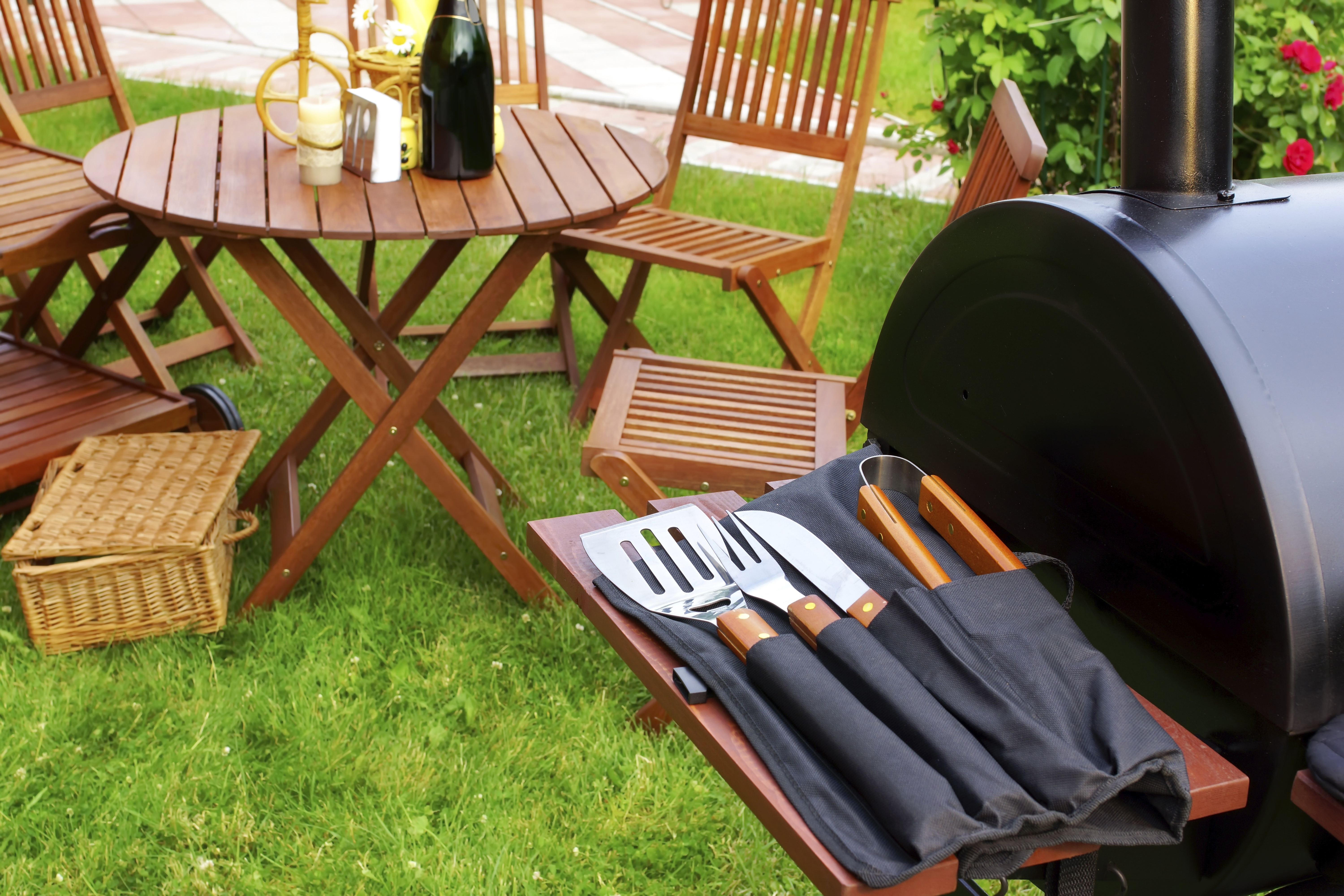 Get your home (and grill) ready for Memorial Day weekend!
